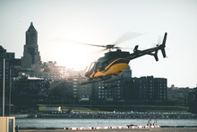 Helicopter TakeOff - New York