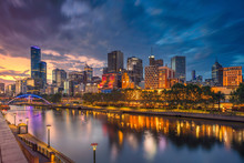 City Of Melbourne. Cityscape I...