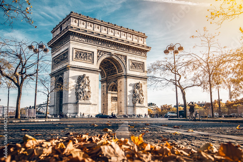 Arc de Triomphe in Paris Wallpaper Mural