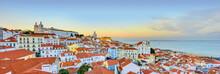 Lisbon Historical City Panorama, Alfama Architecture
