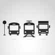 Transport vector icon.