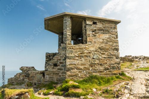 Poster  World War Two coastal observation post South Stack, United Kingdom