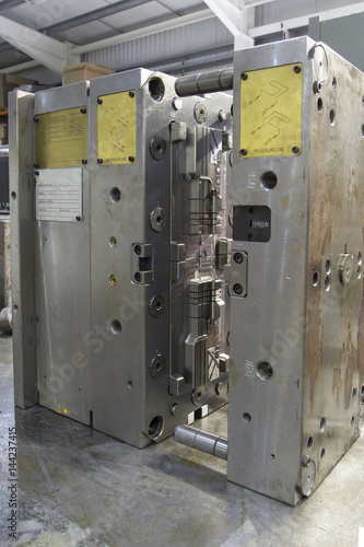 Injection mouilding tool Fototapet