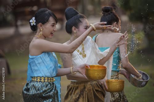 Photo  Songkran festival