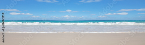 Aluminium Prints Ocean Beach background