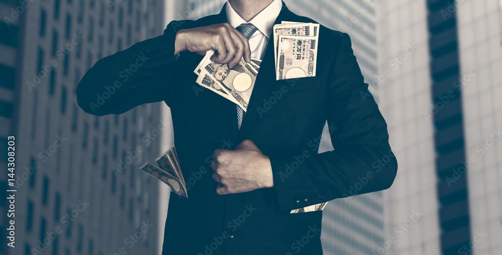 Fototapety, obrazy: 大企業, お金