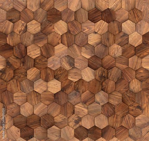 Tapety Loftowe  szesciokaty-bezszwowa-tekstura-scian-drewnianych