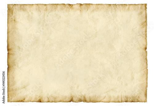 Fotografie, Obraz  Altes Papier, Pergament