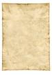 Leinwanddruck Bild Old Paper Hochformat