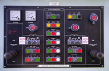 Engine Room Console Control Panel On Tanker