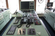 Ship control panel and Phone on tanker