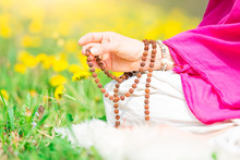 Use Of Mala With Mantras Durin...