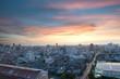 Bangkok Skyline Sonnenuntergang Wolkenkratzer Stadt