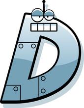 Letter D Robot
