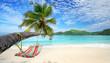 Urlaubsfeeling - Hängematte am Strand