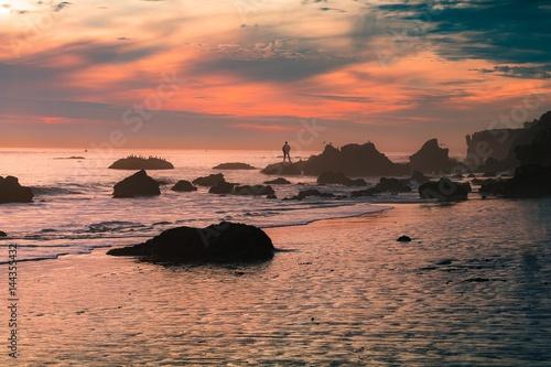 Foto op Plexiglas Crimson West Coast Sunset