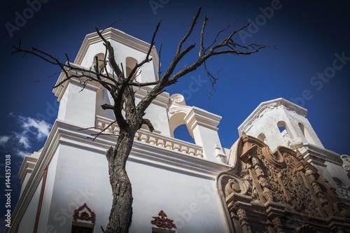 Fotografie, Obraz  Historic Mission San Xavier del Bac