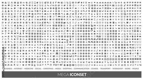 Iconset Canvas Print