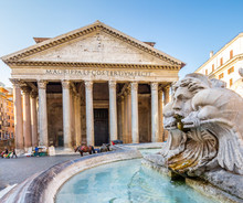 Pantheon, Rome, Italy. Rome Ar...