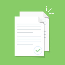 Documents Icon. Stack Of Paper...