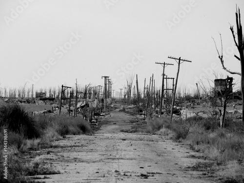 Photo ruinas de un pueblo