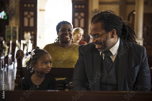 Cuadros en Lienzo Church People Believe Faith Religious