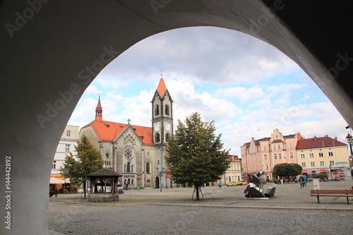 Fototapeta Kościół ewangelicki w Tarnowskich Górach obraz