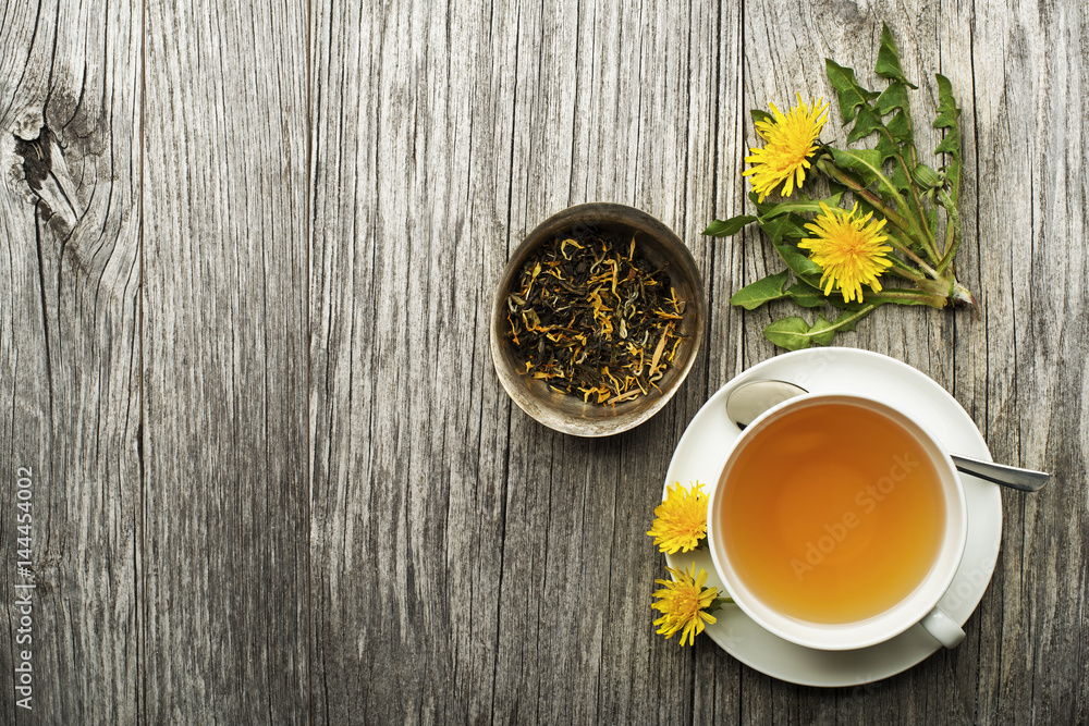 Fototapety, obrazy: Dandelion tea