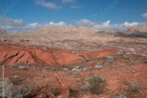 Tuinposter Purper Landscape in Lake Mead.National Recreation Area, USA