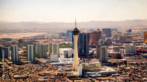 Obraz na płótnie Las Vegas Strip anteny