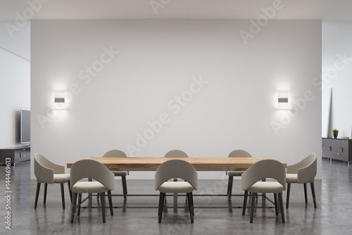 Dining room table Poster