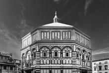 Baptistery, Florence, Tuscany,...