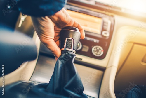 Stick Shift Manual Transmission Fototapeta