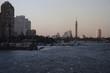 Cairo at Sunset; From University Bridge;Cairo; Egypt