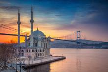 Istanbul. Image Of Ortakoy Mos...
