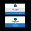 Business card template design.