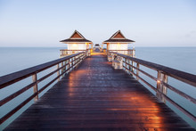 Fishing Pier In Naples, Florida