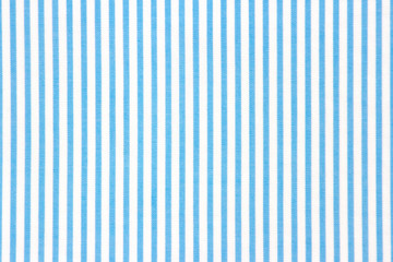 Blue stripped textile background.