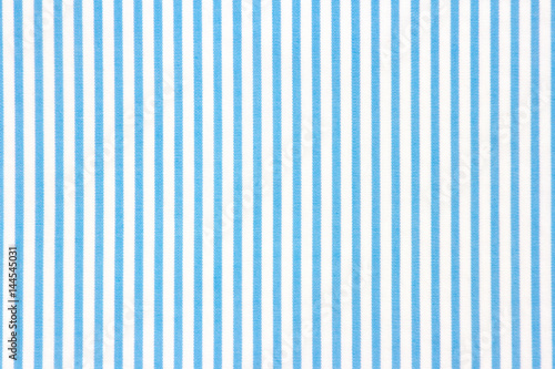 Foto  Blue stripped textile background.