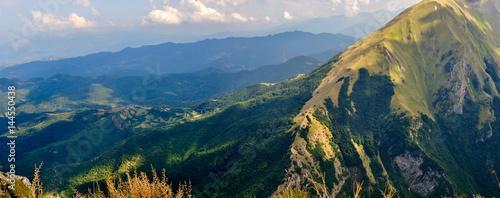 Parco nazionale dei Monti Sibillini Canvas Print