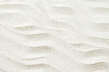 White sand texture background with wave pattern