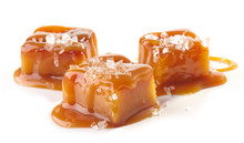 Homemade Salted Caramel Pieces