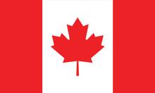 Vector Of Canada Flag