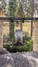 Water Fountain In Rhodes, Greece