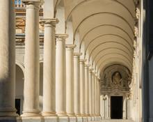 Napoli, Italy. The Colonnade O...
