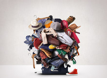 Big Heap Of Different Clothes ...
