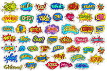 Sticker Collection For Comic S...