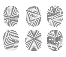 Set Of Fingerprint Types With ...