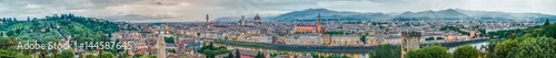 Foto op Canvas Barcelona general view of Florence, Italy