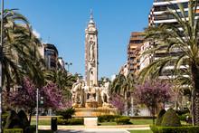 Brunnen Plaza De Los Luceros Alicante